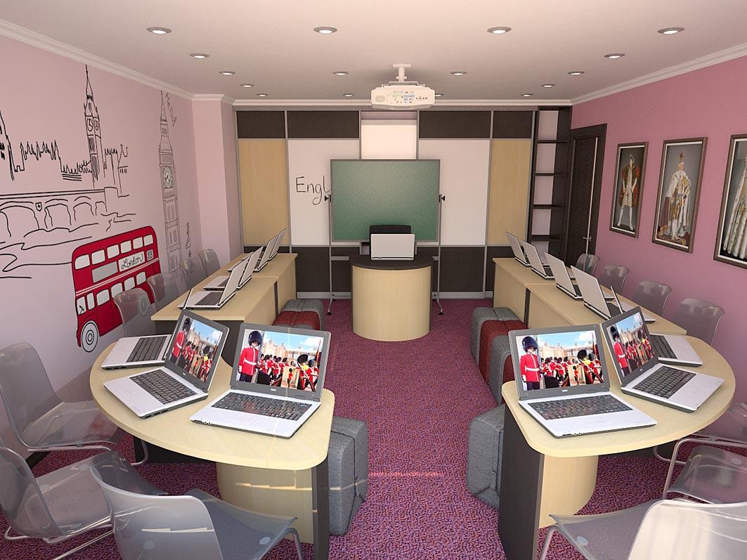 Дизайн школьного кабинета